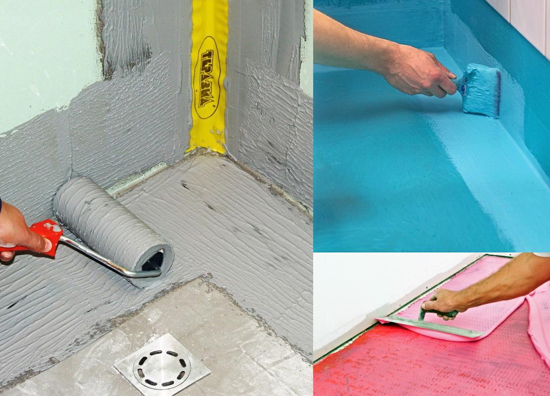 Как правильно сделать гидроизоляция деревянного пола в ванной комнате